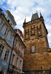 La torre del ponte Carlo a Praga