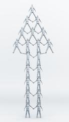 Team Pyramid Up Arrow