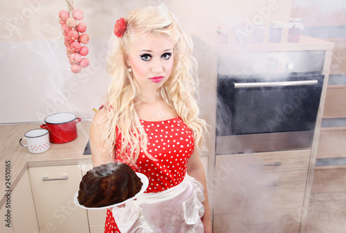 Baking disaster