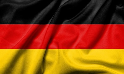 3D Flag of  Germany satin
