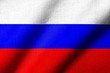 3D Flag of Russia waving