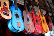 bright colorful guitars for sale