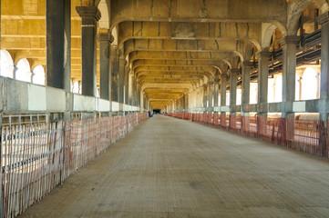 Lower deck of bridge, long unused, open to walking tours