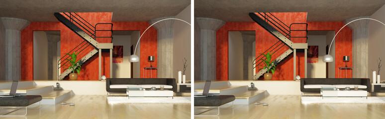 stereo modern interior