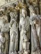 Cathédrale Notre-Dame de Laon (statues au portail)