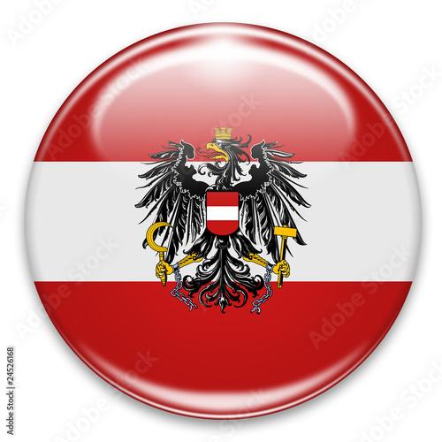 sterreich fahne flagge button stockfotos und lizenzfreie bilder auf bild 24526168. Black Bedroom Furniture Sets. Home Design Ideas