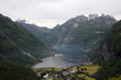 View over Geirangerfjord