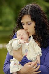 mutter und säugling