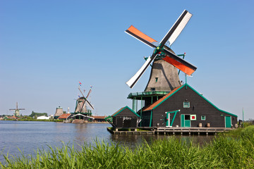 Windmill at Zaanse Schans