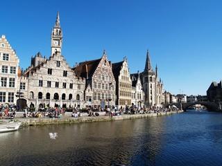 City of Ghent, Belgium, Europe