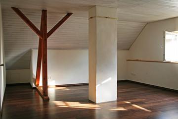Renovieren mit Dachausbau innen