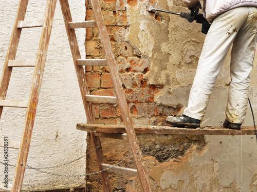 haus renovierung au enwand von stormpic lizenzfreies foto 24538391 auf. Black Bedroom Furniture Sets. Home Design Ideas