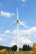 Wind Turbine in summer