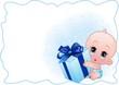 Neonato Maschio-Baby Boy-Vector