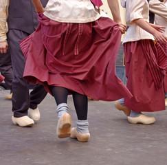 dutch dancers in festival