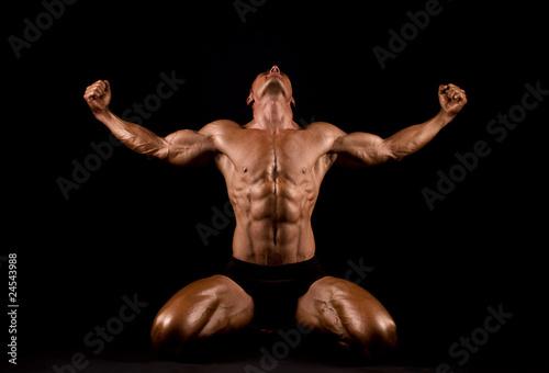 Fototapeten,erwachsen,athlet,unterleib,sportlich