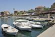 Bateaux dans le vieux port Phénicien de Byblos