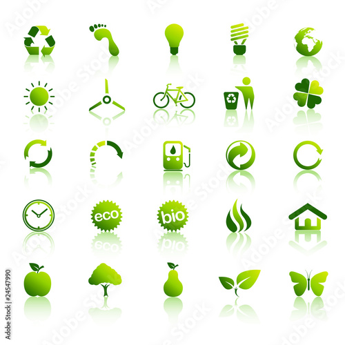 25 Eco iconset 1