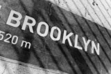 Fototapety Brooklyn Placard