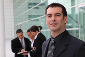 Portrait d'un homme d'affaires