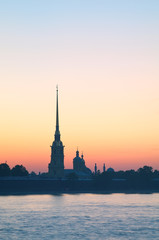 Peter and Paul Fortress at morning