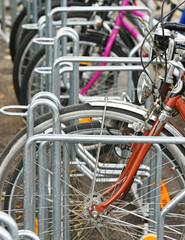 Bikes in the City - Fahrräder in der Stadt