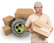 Overnight courier service