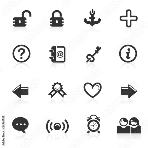 Web & Internet Icons 4 - minimo series