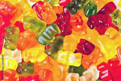 Fototapeta gummy bears
