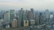 Time lapse Osaka skyline, Japan from highest point in Osaka