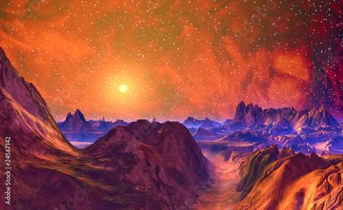 Fototapeten,nacht,landschaft,himmel,schönheit