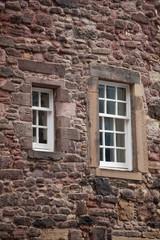 Medieval facades in Edinburgh, Scotland