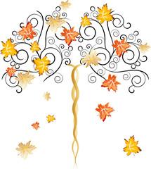 albero stagione autunno