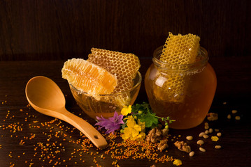 honey composition