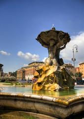 Fontana dei Tritoni in Piazza Bocca della Verità, Roma
