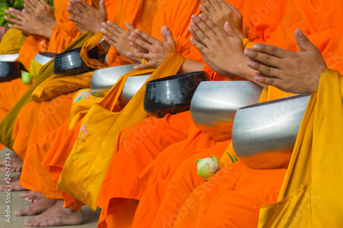 Thai monks