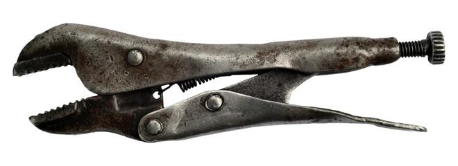 Old american pliers-spanner