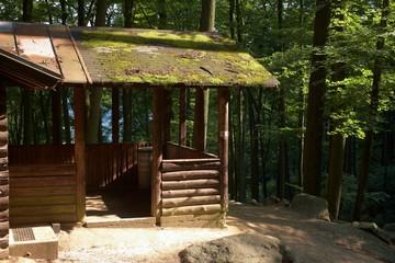 Hütte am Felsenmeer Odenwald
