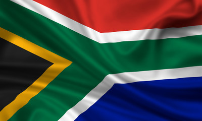 Flag of South Africa Südafrika Fahne Flagge