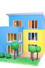 Modellhaus, model from new house