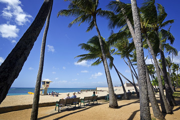 Waikiki Beach for Seniors, Oahu Hawaii