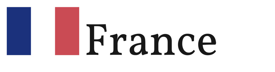 "Banner / Flag ""France"""