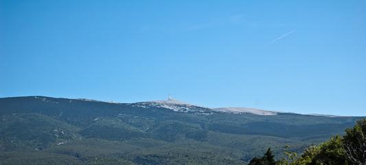 Mont Ventoux en Provence en France