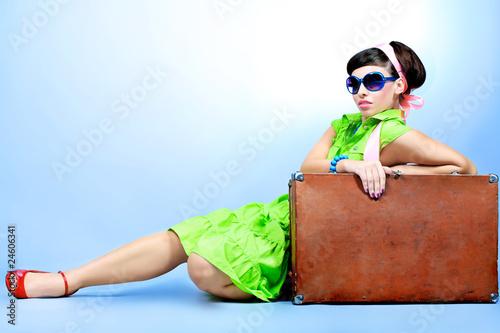 glamorous traveller