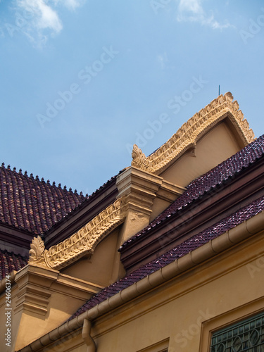 Roof of Thawon Watthu Buding