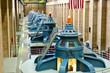 Leinwanddruck Bild - Hoover Dam Turbines