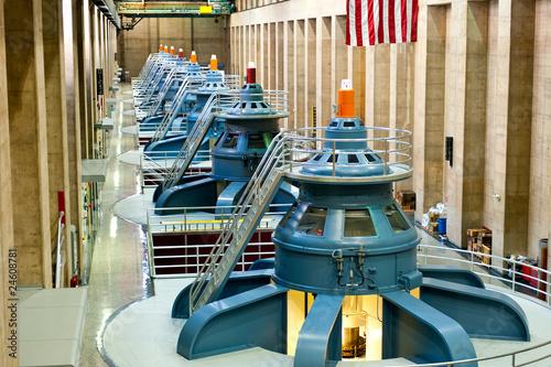 Hoover Dam Turbines