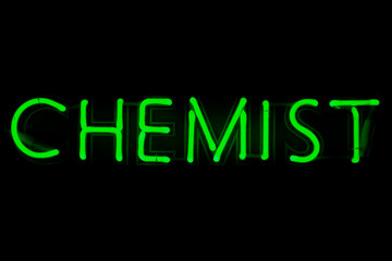 Chemist neon sign