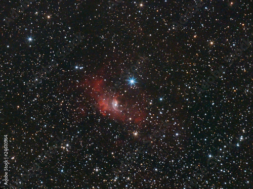 "NGC 7635, ""Bubble"" Nebula in Cassiopeia"