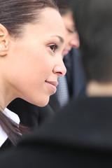 Portrait d'une femme d'affaires